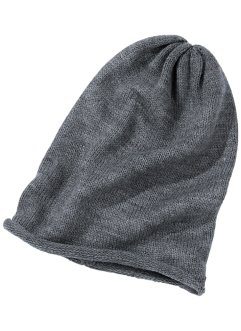 Beanie, bpc bonprix collection, grau