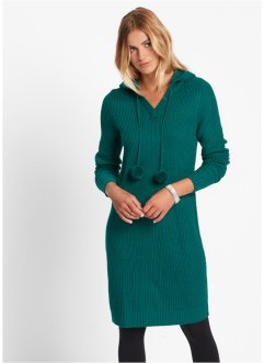 Strickkleid, bpc bonprix collection, wollweiss