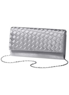 Satin Clutch in Flechtoptik, bpc bonprix collection