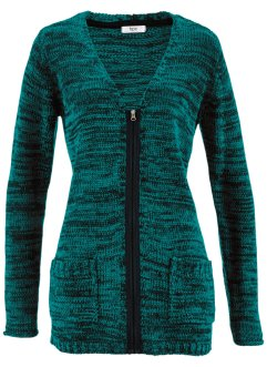 Gilet en maille manches longues, bpc bonprix collection