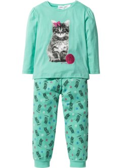 Pyjama (2-tlg. Set), bpc bonprix collection, mint