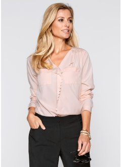 Bluse, bpc selection, puder rosa