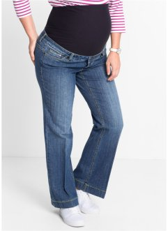 Umstandsjeans, mit Schlag, bpc bonprix collection, blue stone