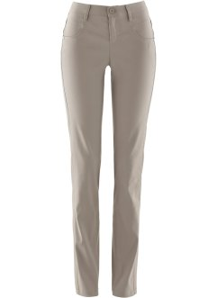 "Stretch-Hose, ""gerade"", bpc bonprix collection, taupe"