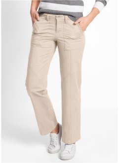 Cargohose, bpc bonprix collection, kieselbeige