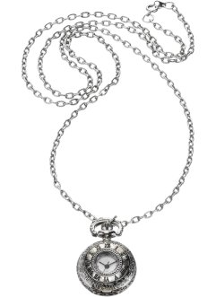 Montre collier Antika, bpc bonprix collection, gris argent