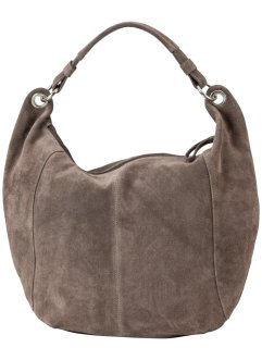 Ledershopper, bpc bonprix collection, taupe