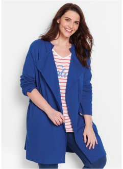 Trench manches longues, bpc bonprix collection, bleu gentiane