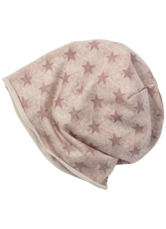 Beanie Sterne, bpc bonprix collection, rosa