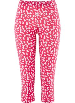 Capri Leggings, bpc selection, hibiskuspink/weiss
