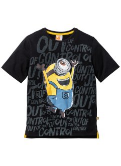 """MINIONS"" Shirt, Despicable Me_TV-Mania, schwarz"