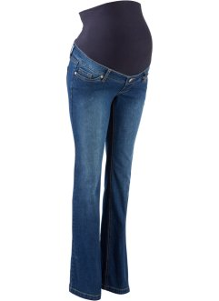Umstandsjeans, Flared, bpc bonprix collection, blue stone