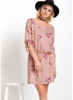 MUST-HAVE : robe, RAINBOW, rose vintage à fleurs