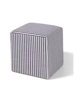 "Hocker ""Finnley"", bpc living, blau/weiss"