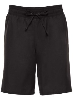 Strandbermuda, bpc bonprix collection, schwarz