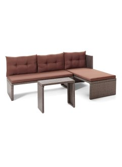 Mobilier de balcon Rhodos (Ens. 3 pces.), bpc living bonprix collection