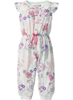 Jumpsuit, bpc bonprix collection, wollweiss bedruckt