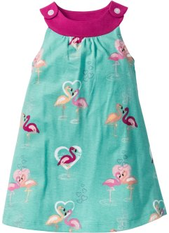Kleid, bpc bonprix collection, pazifikgrün Flamingo