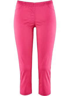 3/4-Stretch Treggings, bpc bonprix collection, pink