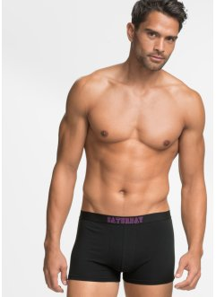 Boxer (7er-Pack), bpc bonprix collection, schwarz