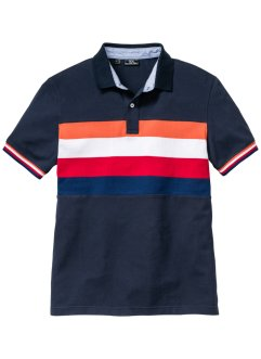 Poloshirt Blockstreifen Regular Fit, bpc bonprix collection