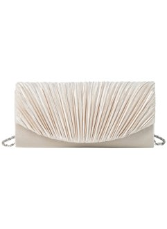 Clutch, bpc bonprix collection, creme