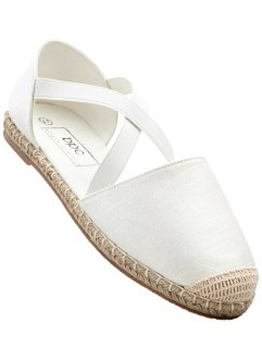 Espadrille, bpc bonprix collection, weiss