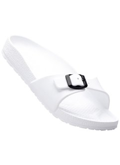 Pantolette, bpc bonprix collection, weiss
