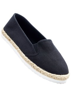 Espadrille, bpc bonprix collection, schwarz