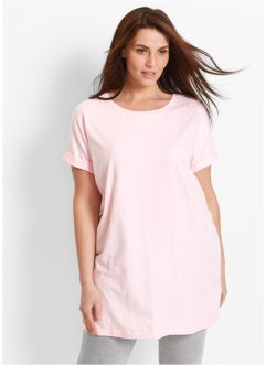 T-shirt long boxy, manches courtes, bpc bonprix collection