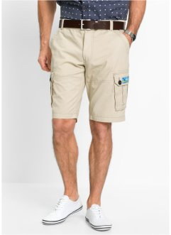 Cargo-Bermuda Loose Fit, bpc selection, beige