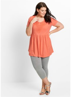 Shirt-Tunika + 3/4-Leggings (2-tlg.), bpc bonprix collection