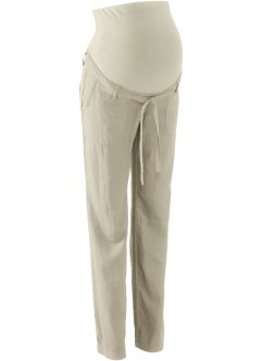Pantalon de grossesse en lin, bpc bonprix collection