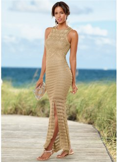 Sommerliches Strickleid, BODYFLIRT boutique, sand