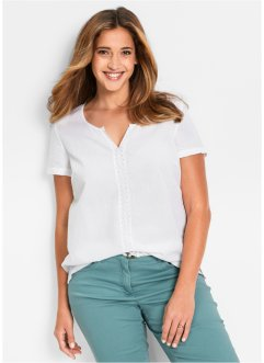 Halbarm-Bluse, bpc bonprix collection