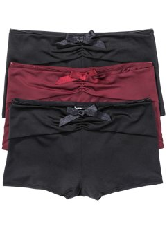 Lot de 3 shorties microfibre, bpc bonprix collection
