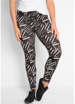 Lange Sport-Leggings mit Muster, bpc bonprix collection