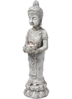 Deko-Figur Buddha mit Windlicht, bpc living bonprix collection