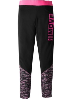 Funktionsleggings, schnelltrocknend und atmungsaktiv, bpc bonprix collection