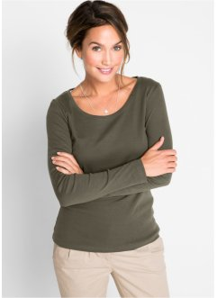 Basic Baumwoll Rib-Jersey, bpc bonprix collection