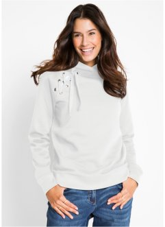 Sweatshirt mit Schnürung, bpc bonprix collection
