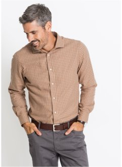 Chemise en flanelle à carreaux Regular Fit, bpc selection
