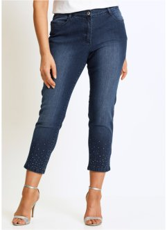 Jean extensible 7/8 avec strass, bpc selection