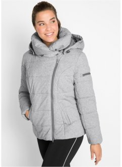 Wattierte Steppjacke aus Jersey mit Schalkragen, bpc bonprix collection