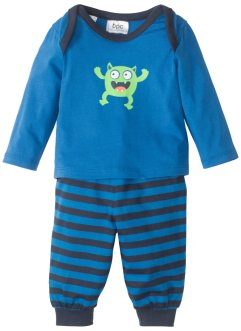 Baby Langarmshirt + Hose  (2-tlg. Set) Bio-Baumwolle, bpc bonprix collection