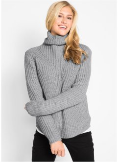 Pullover mit Rollkragen, bpc bonprix collection