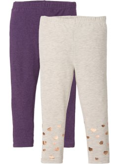 Leggings mit Glitzer (2er-Pack), bpc bonprix collection