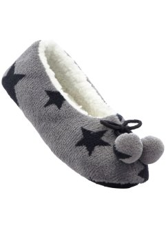 Chaussons motif étoile, bpc bonprix collection