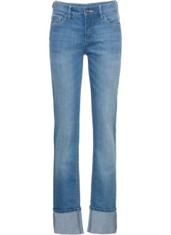 Stretch-Jeans mit Turn-Up STRAIGHT, John Baner JEANSWEAR