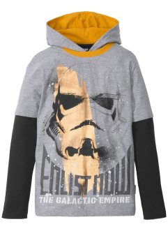 T-shirt double épaisseur à capuche STARWARS, Star Wars